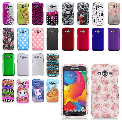 Samsung Galaxy Avant G386 Snap On Hard Shell Case Cover T-Mobile Metro PCS