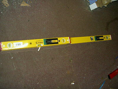 """Stabila H-Duty Ribbed Type 96-2 Level Duo Pack- 48""""&24""""(1200Mm&600Mm) *best Buy*"""