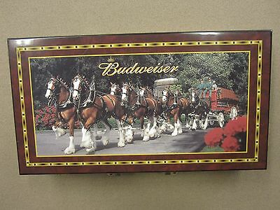 Budweiser Clydesdale Poker Set w/ FREE Shipping