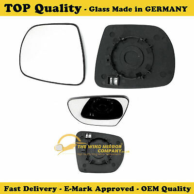 IVECO DAILY 04-2006 to 2014 DRIVER//RIGHT SIDE WING MIRROR GLASS /&BASE PALTE