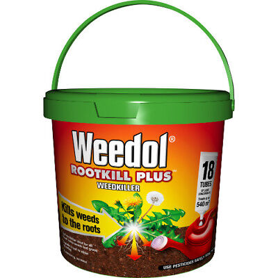 Weedol Rootkill Plus 18 Tube Tub