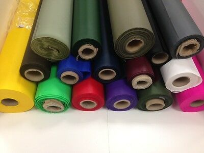 Waterproof 4Oz Pu Nylon Fabric (D4) - 16 Colours - Free Postage