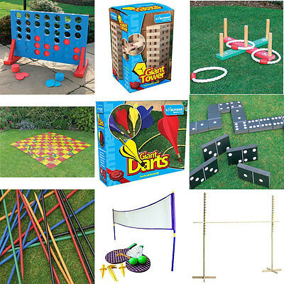 Ultimate Outdoor Garden Pub Wedding Fete Games Package Inc Giant Jenga Connect 4