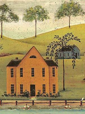 - Sale $  Country Colonial Houses in Harbor Bay  45 feet  Wallpaper Border 599