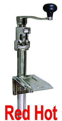 """Fma Omcan Commercial Heavy Duty  #1 Can Opener Up To 11"""" Tall Restaurant  10582"""