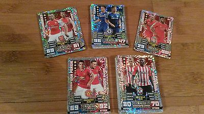 Job Lot of Topps Match Attax 14/15 Foil Duo Cards - choose / most available