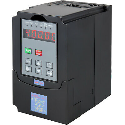 1.5Kw 7A 220V 2Hp Vfd Inverter Single Phase Variable Speed Drive Inverter