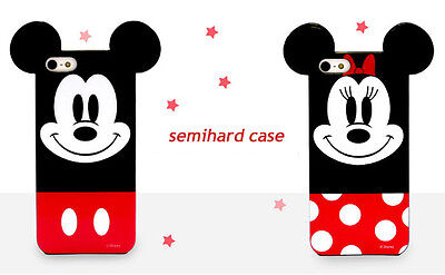 2Pcs 3D Cartoon Lover Couple Soft TPU Silicone Back Case Cover for iPhone 5 5S