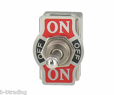 Heavy Duty 20A 125V 15A 250V DPDT 6 Term ON-OFF-(Momentary ON)  Toggle Switch