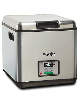 SousVide Supreme Stainless Steel Water Oven System, 2.96-Gallons, Sous Vide