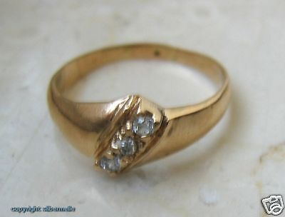 Brillantring Diamantring Ring mit Brillanten Brillant Diamanten Diamant Gold 585