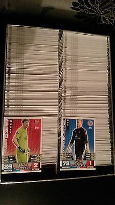 Job Lot of New Match Attax 2014/15 Cards Teams pick / choose your bundle numbers