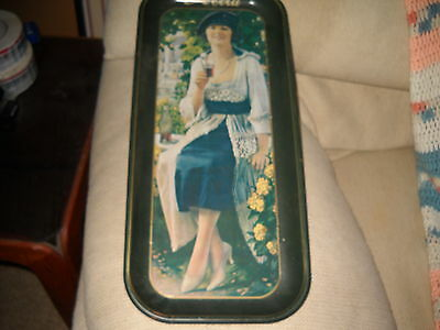 COCA COLA ADVERTISING SERVING TRAY 1921 AD PRINTED 1973 IN TRAY