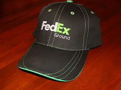 FedEx Ground Contrast-stitched Ball Cap Brand New Hat velcro adjustable size