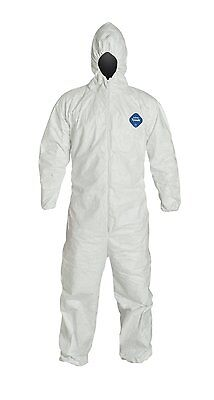 Dupont Ty127S-Xl Tyvek Coveralls Bunny Suit Case/25
