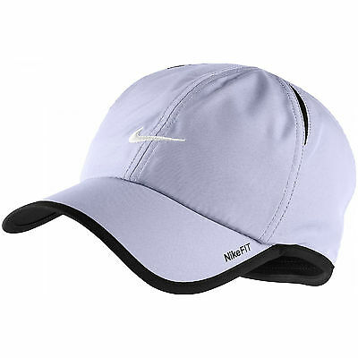 New Nike Feather Light Cap Hat Dri Fit Running Tennis Football 595510-531 Violet