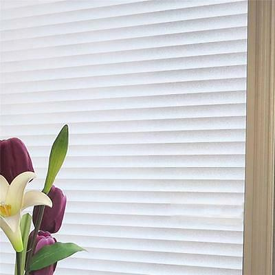 60cm x 3m Blinds Bathroom Office Privacy Frosted Removable Window Glass Film