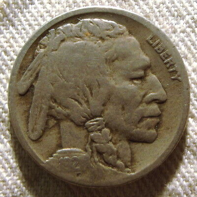 1921-S Buffalo Nickel – Nice Circulated Better Date – Free Shipping #1