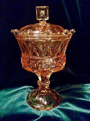 Fostoria Gold CROWN WINDSOR Chalice Candy Dish