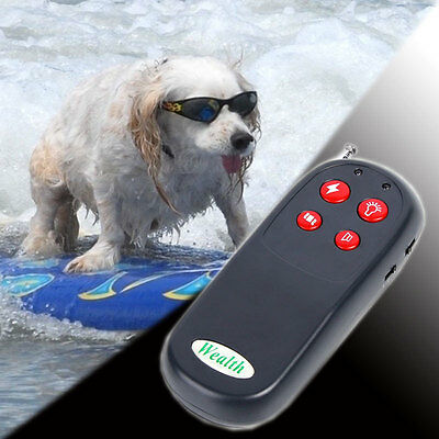 4in 1 Pet Training Dog Vibrate Electric Shock No Bark Collar Remote Control 250M