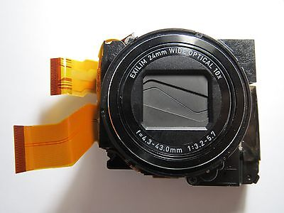 Zoom Lens Unit Assembly Repair Part for Casio EX-H15  Camera  With CCD