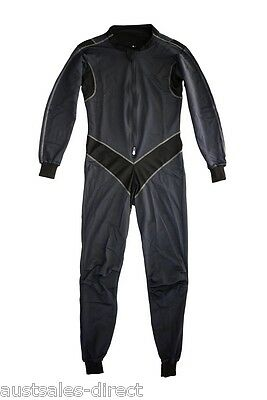 Mens Thermal Suit Liner Base Layer for Motorcycle Leathers Compression 1pc S L