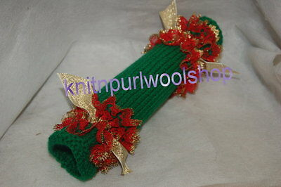 Knit In Lace Christmas Cracker  - Knitting Pattern -  Not The Finished Cracker
