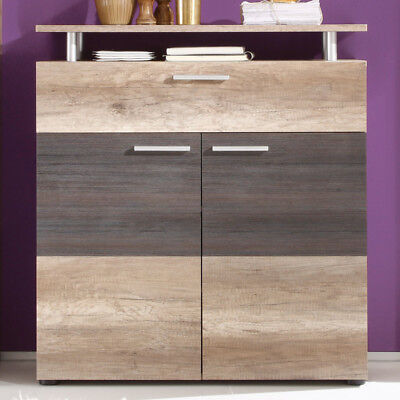 garderobe schuhkommode in canyon oak kommode schuhschrank flurschrank flurm bel eur 139 00. Black Bedroom Furniture Sets. Home Design Ideas