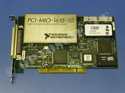 National Instruments PCI-MIO-16XE-10 (PCI-6030E) NI DAQ Card, Multifunction