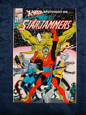 X-Men: Spotlight On Starjammers #1 (1990) * Marvel Comics *