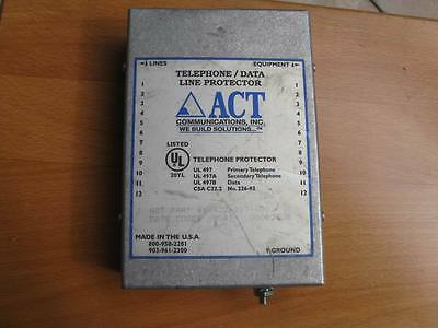 Act 422-017-600 Telephone/data Line Protector