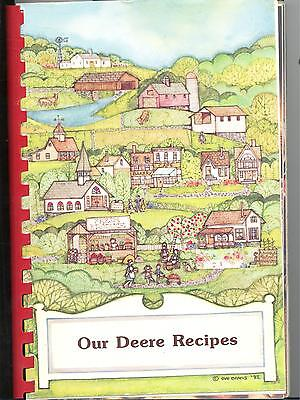 """Our Deere Recipes"" 1988 John Deere Vintage Cookbook Only for the SERIOUS Fan"