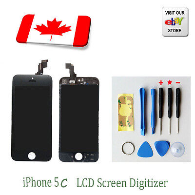 New Replacement Touch Screen LCD Digitizer Assembly For iPhone 5C Black