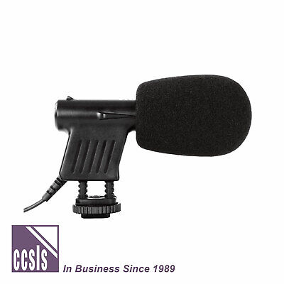 Boya VM01 Mini Shotgun Video Microphone with Shoe Fitting and Fluffy