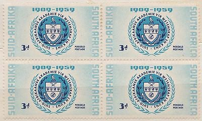 (RSB34)1959 RSA4block 3d 50th anniversary of scienceMH