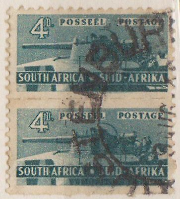(RSB60) 1942 RSA 4d Green joined pair used
