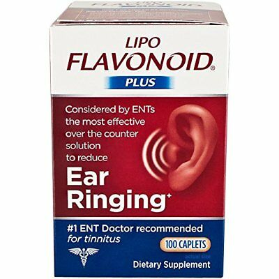 Lipo-Flavonoid Plus Caplet 100 count helps circulation in the ear