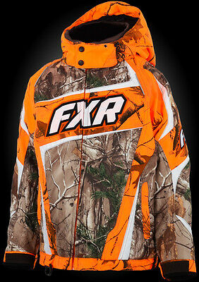 2015 FXR YOUTH HELIX  JACKET REALTREE  SIZE 10 #15306.33310