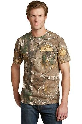 Russell Outdoors Realtree AP Camo Sport Short Sleeve T-Shirt Sizes S-3XL NEW