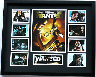 New Wanted Signed Limited Edition Memorabilia