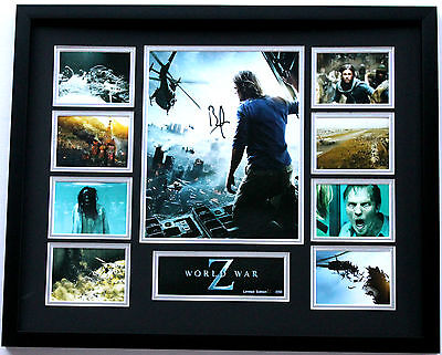 New World War Z Signed Limited Edition Memorabilia