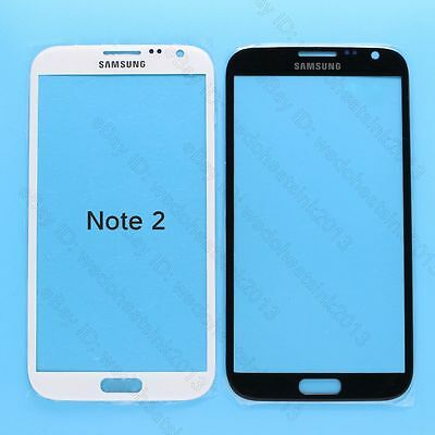 For Samsung Galaxy Note 2 N7100 Front Outer Glass Touch Screen Replace
