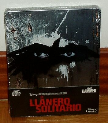 El Llanero Solitario-The Lone Ranger-Blu-Ray-Steelbook-Nuevo-Precintado-Sealed