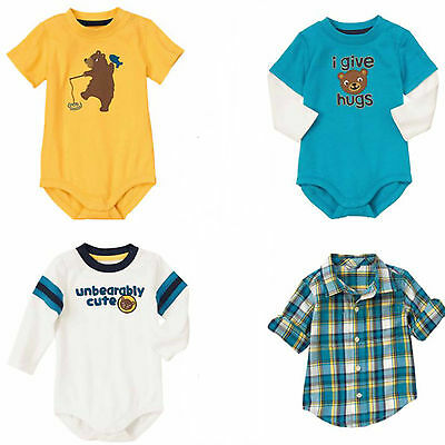 Gymboree Bear Hugs Baby Boy Tops - 0 3 6 12 18 Mos NWT