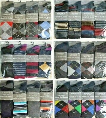 Men Gents Designer Suit Socks Wholesale Job Lot Clearance Pallet Car Boot Trade