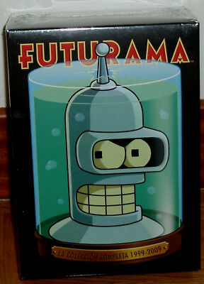 Futurama 1999-2009-1-4 Complete Collection 19 Seasons Dvd New Sealed Movies R2