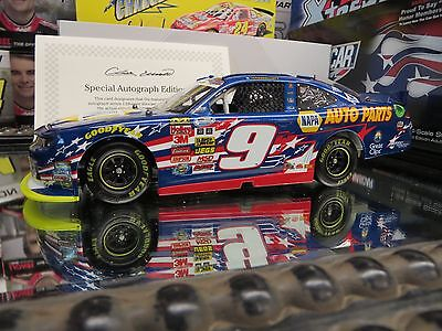 "AUTOGRAPHED CHASE ELLIOTT 2014 NAPA ""NASCAR: AN AMERICAN SALUTE"" 1/24 ACTION"