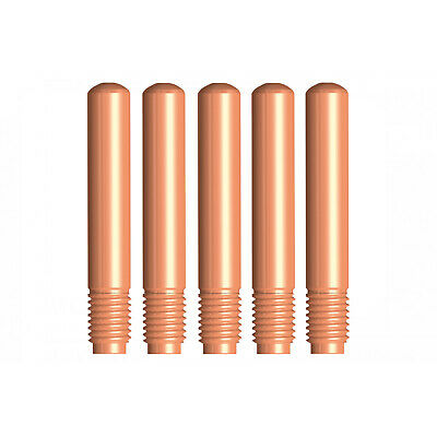 MIG Contact Tips - TWECO #2,3,4  Styl- 0.8 mm - 5 pack- Parweld LONG LIFE -14-30