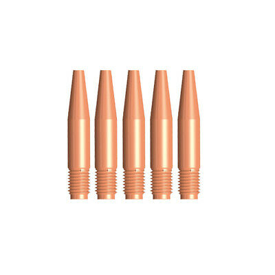 MIG Contact Tips TAPERED - TWECO #2,3,4  Styl- 0.9 mm - 5 pack- LONG LIFE 14T35