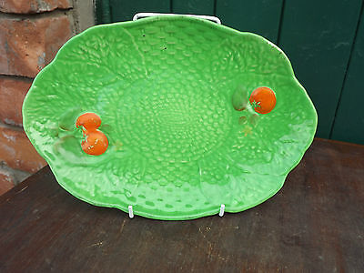 Vintage Crown Devon lettuce & tomato oval tray Fully Stamped